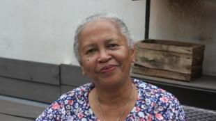 Chantal Radimilahy, archéologue et directrice de l'institut des Civilisations, musée d'Art et d'Archéologie du musée d'Antananarivo.