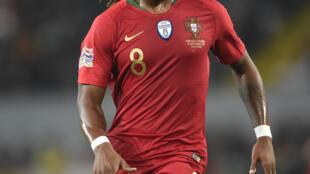 Renato Sanches, internacional português do Lille.