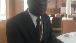 Paulo Gomes, economista guineense que integra a comissão incumbida de elaborar os mecanismos de financiamento de energia para África.
