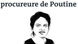 """Ảnh minh họa bài viết """"Françoise Thom, người luận tội Putin"""" trên báo Le Monde."""
