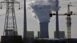 Une centrale à charbon chinoise située près de Pékin.