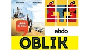 Ce samedi, dans l'Atelier des médias, «La Balade Nationale» raconte l'Histoire, «Oblik» illustre les données, «Eté» la fiction pensée pour Instagram.