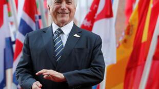 O presidente Michel temer no G20 de Hamburgo, na Alemanha.