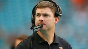 Cincinnati Bengals coach Taylor's club owns the first pick in next month's NFL Draft