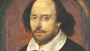 Retrato de William Shakespeare.