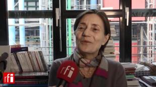 Brigitte Léal, directora adjunta del Centro Georges Pompidou.