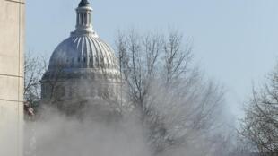 Здания Капитолия, где располагается Сенат США. Вашингтон 07/01/2014 (архив)