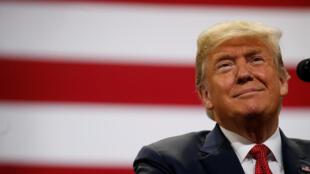 Tổng thống Mỹ Donald Trump vận động tranh cử giữa kỳ tại Minnesota, ngày 04/10/2018.