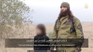 Кадр из видео сайта Alhayat