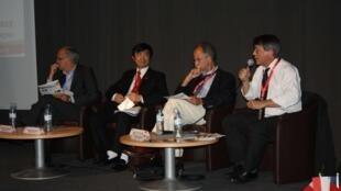 Hội nghị Hợp tác Phi tập trung Pháp Việt tại Brest. Ảnh ngày 11/06/2013.