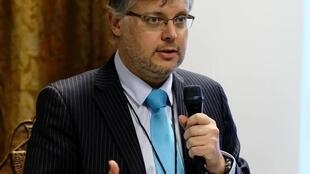 O advogado Emile Myburgh