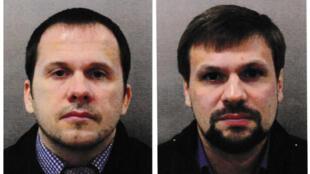Александр Мишкин и Анатолий Чепига на фотографиях, распространенных британскими властями после отравления
