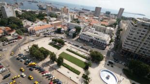 La place de l'Indépendance à Dakar.