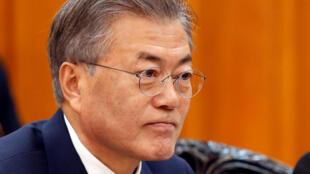 Tổng thống Hàn Quốc Moon Jae In. Ảnh minh họa.