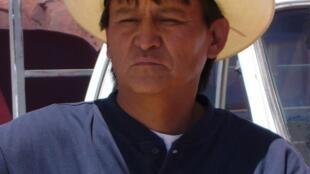 Guía navajo en Monument Valley, Arizona.