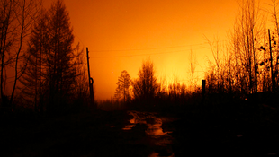 Пожары в Восточной Сибири