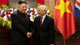 朝鮮領導人金正恩結束越南之行