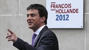 Manuel Valls, who has replaced Claude Guéant as interior minister