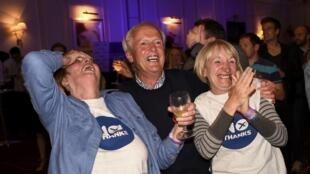 """Phe nói """"không"""" với độc lập vui mừng thắng lợi trong cuộc trưng cầu dân ý ngày 18/09/2014"""