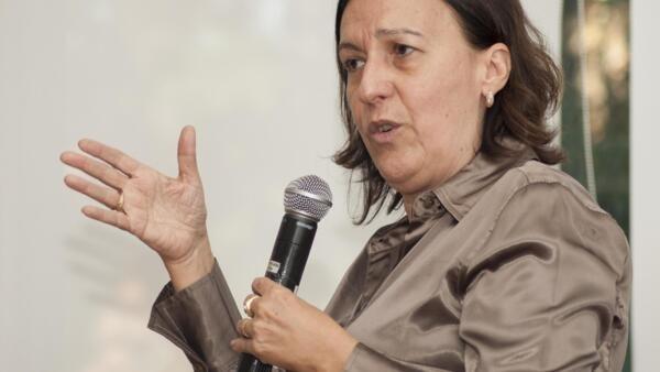 A professora da Universidade Federal do Rio de Janeiro, Lígia Bahia.