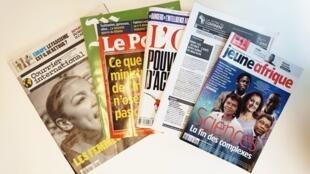 Capas dos semanários de 17/011/18
