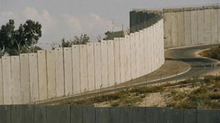 Le mur en Palestine.