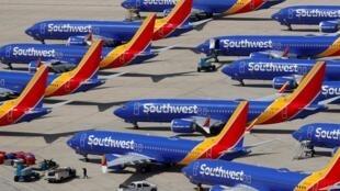 Depuis le crash d'Ethiopian Airlines, tous les Boeing 737 MAX sont cloués au sol.