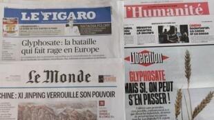 Jornais franceses desta quarta-feira, dia 25 de Outubro.