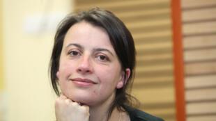 Cécile Duflot, secretária nacional do Partido Verde francês.