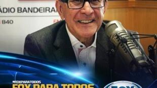 O locutor esportivo José Silvério.
