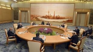 Сессия открытия саммита ШОС  в Пекине 06/06/2012
