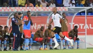 André Ayew (centre) scored Ghana's winner against Democratic Republic of Congo.