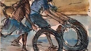 """Capa do livro """"A Leste de Tudo – crónicas de uma infância"""", do escritor Flaviano Mindela dos Santos"""