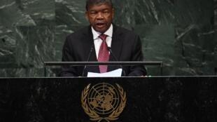 João Lourenço, presidente de Angola na 73ª Assembleia-Geral das Nações Unidas. 25/09/18