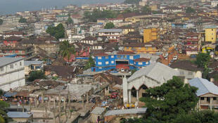 Freetown, capitale de la Sierra Leone.
