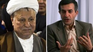 Akbar Hashemi Rafsanjani y Esfandiar Rahim Mashaie fueron excluidos de las elecciones.