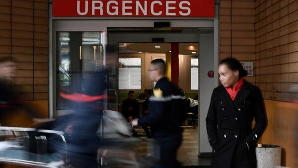 The emergency department of the Cochin Hospital in Paris on 11 January 2017
