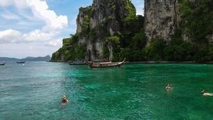 Cảnh quan xinh đẹp ở Phuket, Thái Lan.