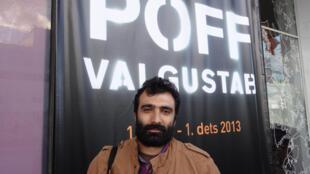 Jivan Avetisyan, réalisateur et producteur arménien, au Festival du film «Nuits noires» de Tallinn (PÖFF), le 28 novembre 2013.