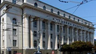 La Cour de justice, à Sofia, en Bulgarie.