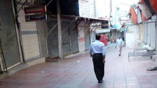 شهر بانه نیز در اعتصاب قرار دارد