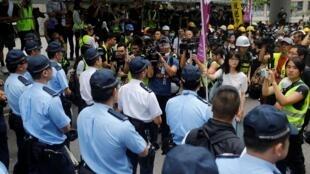 As populações de Hong Kong e de Taiwan constituem os últimos bastiões da liberdade dentro do império chinês.