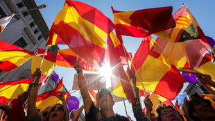 Sunday's demonstration against Catalan independence in Barcelona