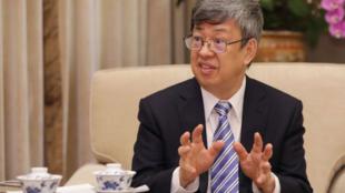 台灣副總統陳建仁資料圖片