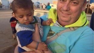O trabalhador humanitário Allan Henning, assassinado pelo grupo EI na Síria.