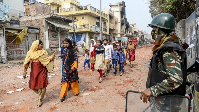 Reportage international - Inde: affrontements meurtriers entre hindous et musulmans à New Delhi