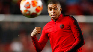 PSG's Kylian Mbappé has scored 32 goals in 36 games this season.