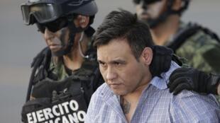 """Omar Treviño, ou Z-42, é líder do grupo mexicano de narcotraficantes  """"Os Zetas""""."""