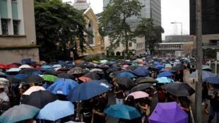 Đông đảo người dân Hồng Kông lại xuống đường biểu tình đòi dân chủ ngày 31/08/2019.