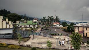 Vue de la ville de Buea, dans la région anglophone du Cameroun, le 27 avril 2018.